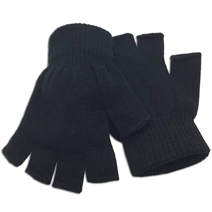 Winter Fingerless Gloves