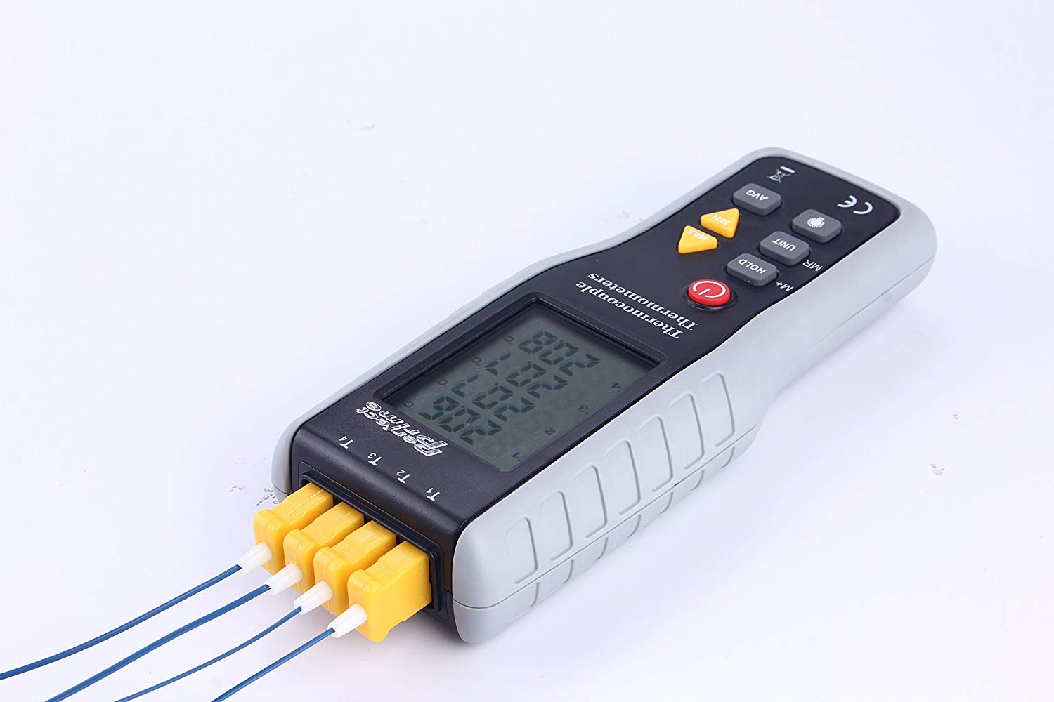 PerfectPrime TC41, 4-Channel K-Type Digital Thermometer
