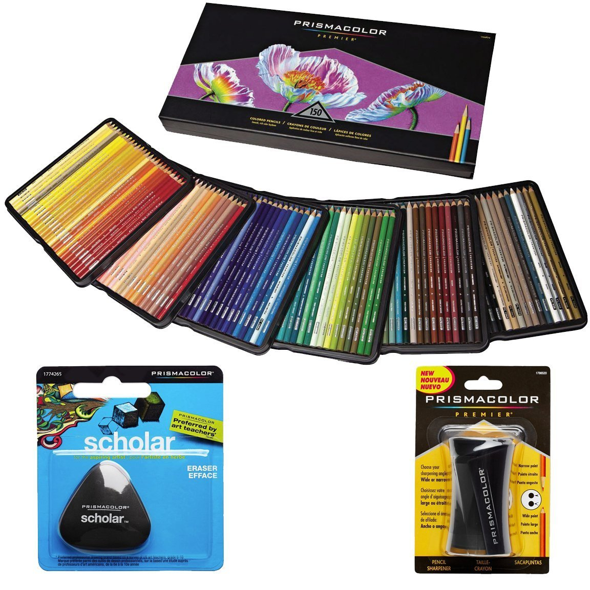 Prismacolor Colored Pencils Box of 150 Assorted Colors