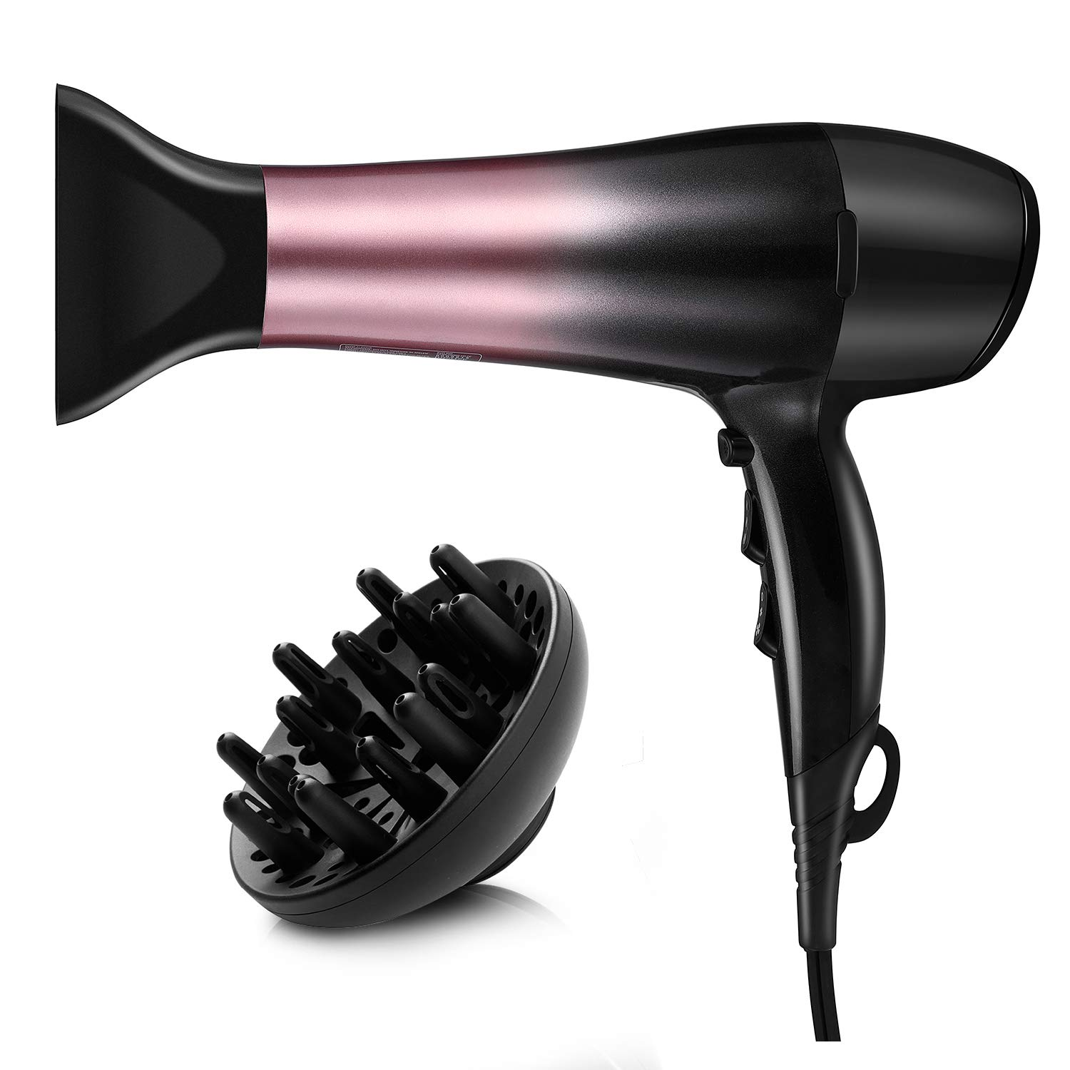 KIPOZI 1875W Hair Dryer, Nano Ionic Blow Dryer