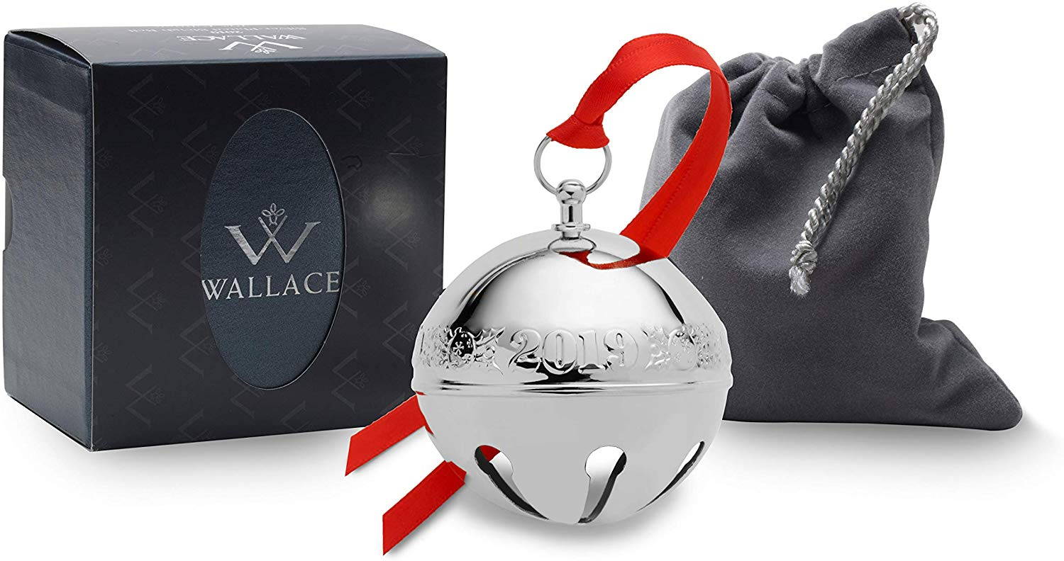 Wallace 2019 Silver-Plate Sleigh Bell
