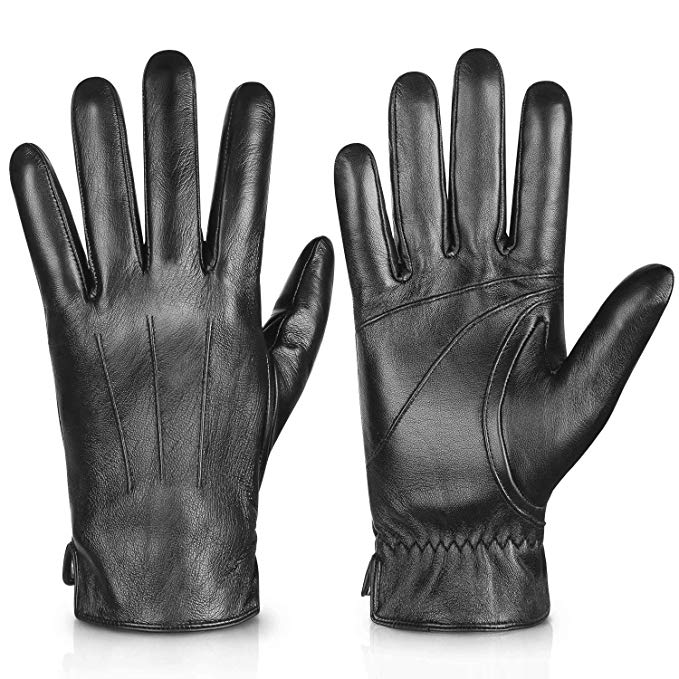 Genuine Sheepskin Leather Gloves