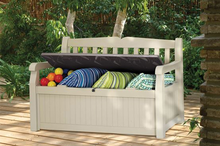 Patio Storage Benches