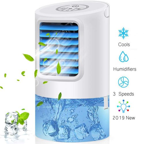 GREATSSLY Humidifier Portable Air Conditioner Fan