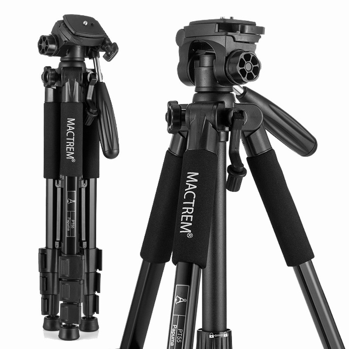 Mactrem PT55 Travel Camera Tripod