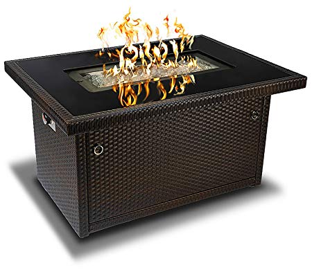 Outland Living Series Outdoor Propane Gas Fire Pit Table