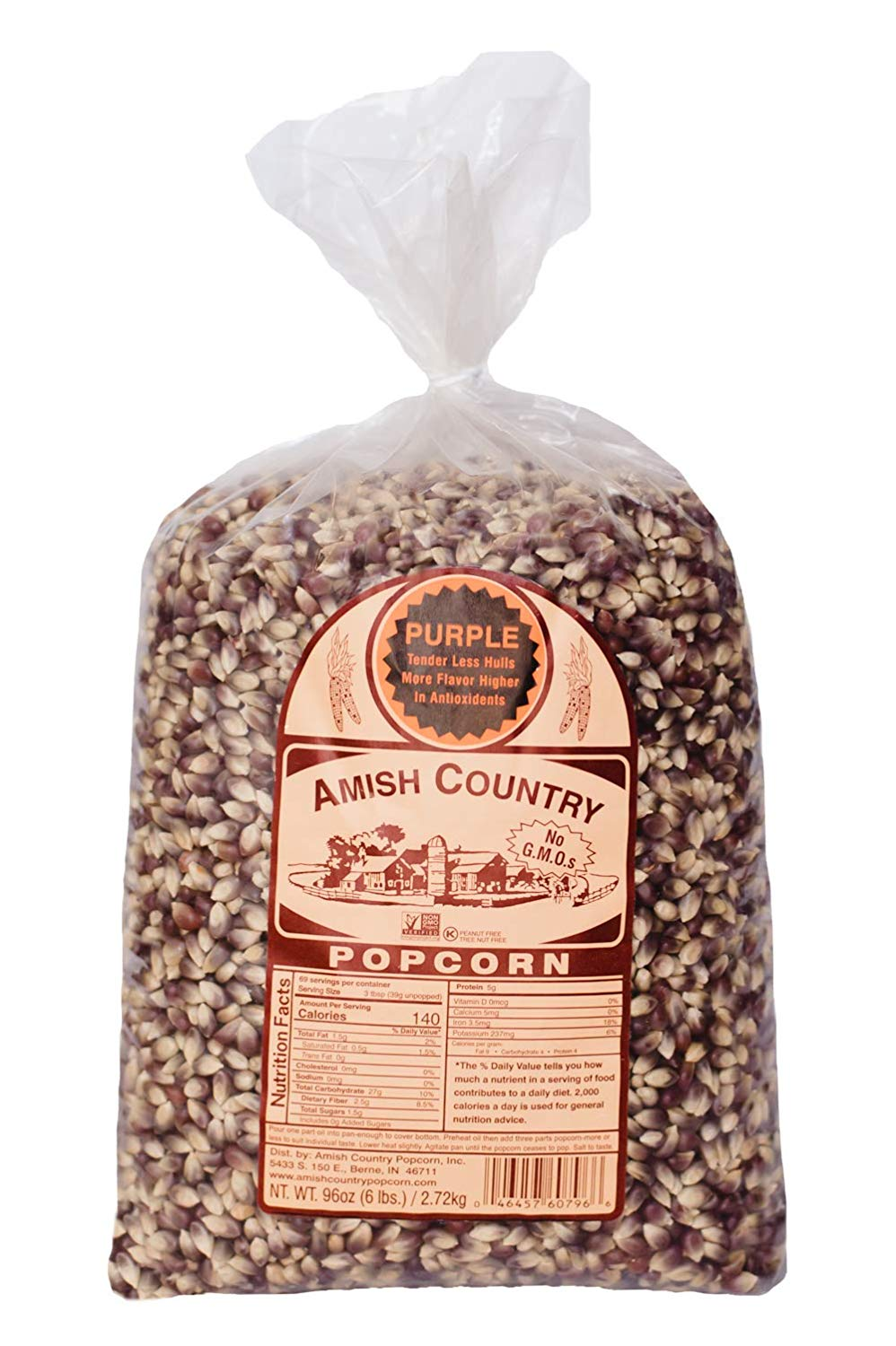 Amish Country Old Fashion Purple Kernels