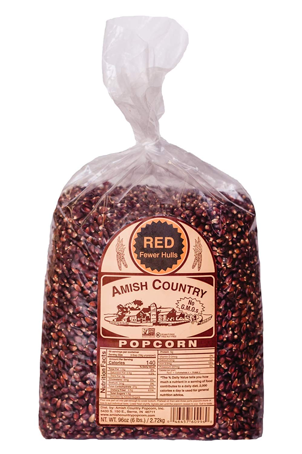 Amish Country Old Fashioned Red Kernels