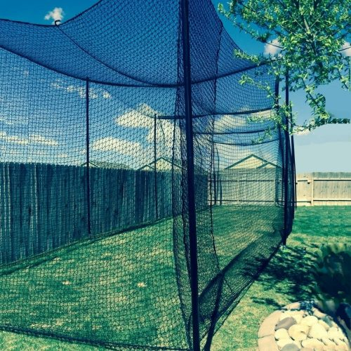 Gourok 10 High by 10 Wide by 60 Long Batting Cage Net