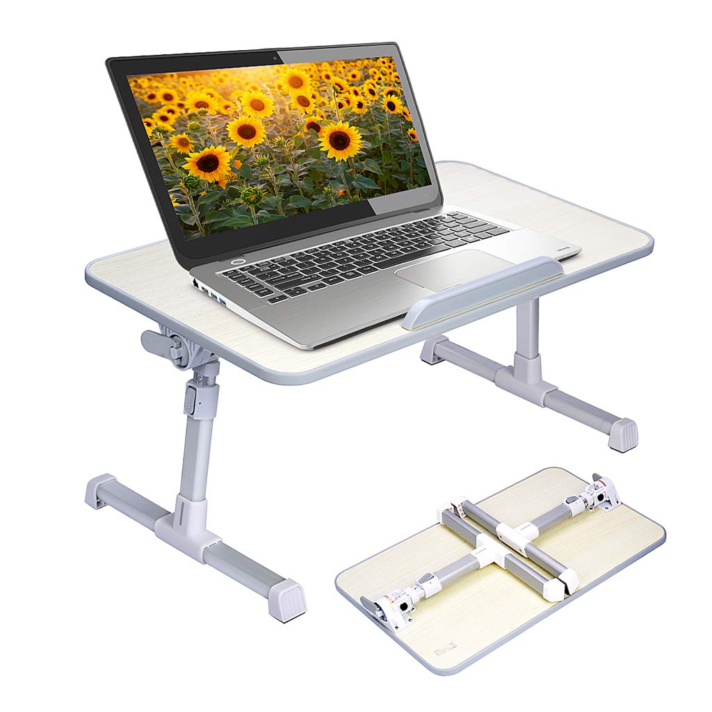 Neetto Height Adjustable Laptop Bed Table