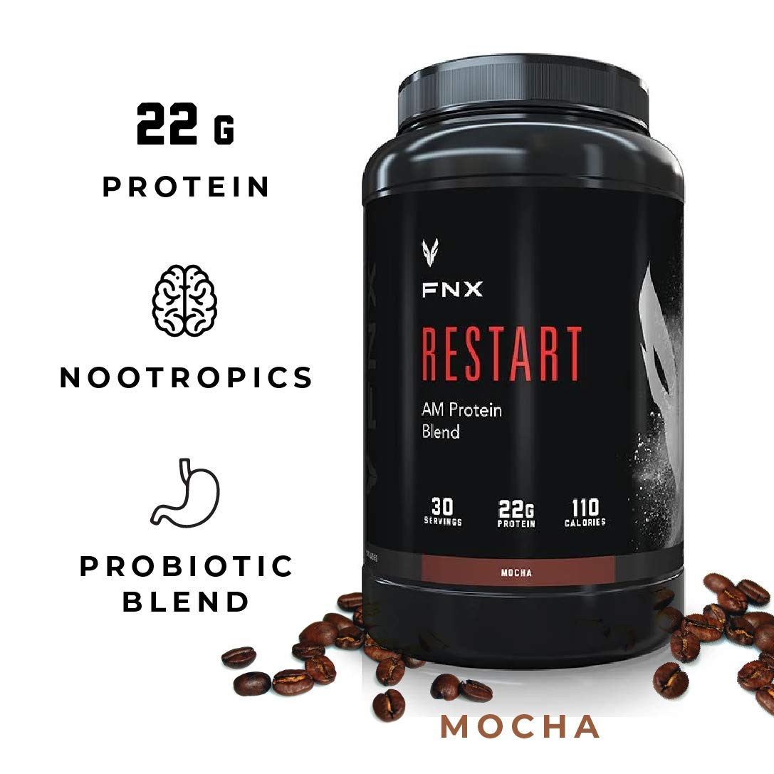 FNX Restart AM Protein Blend (Mocha)