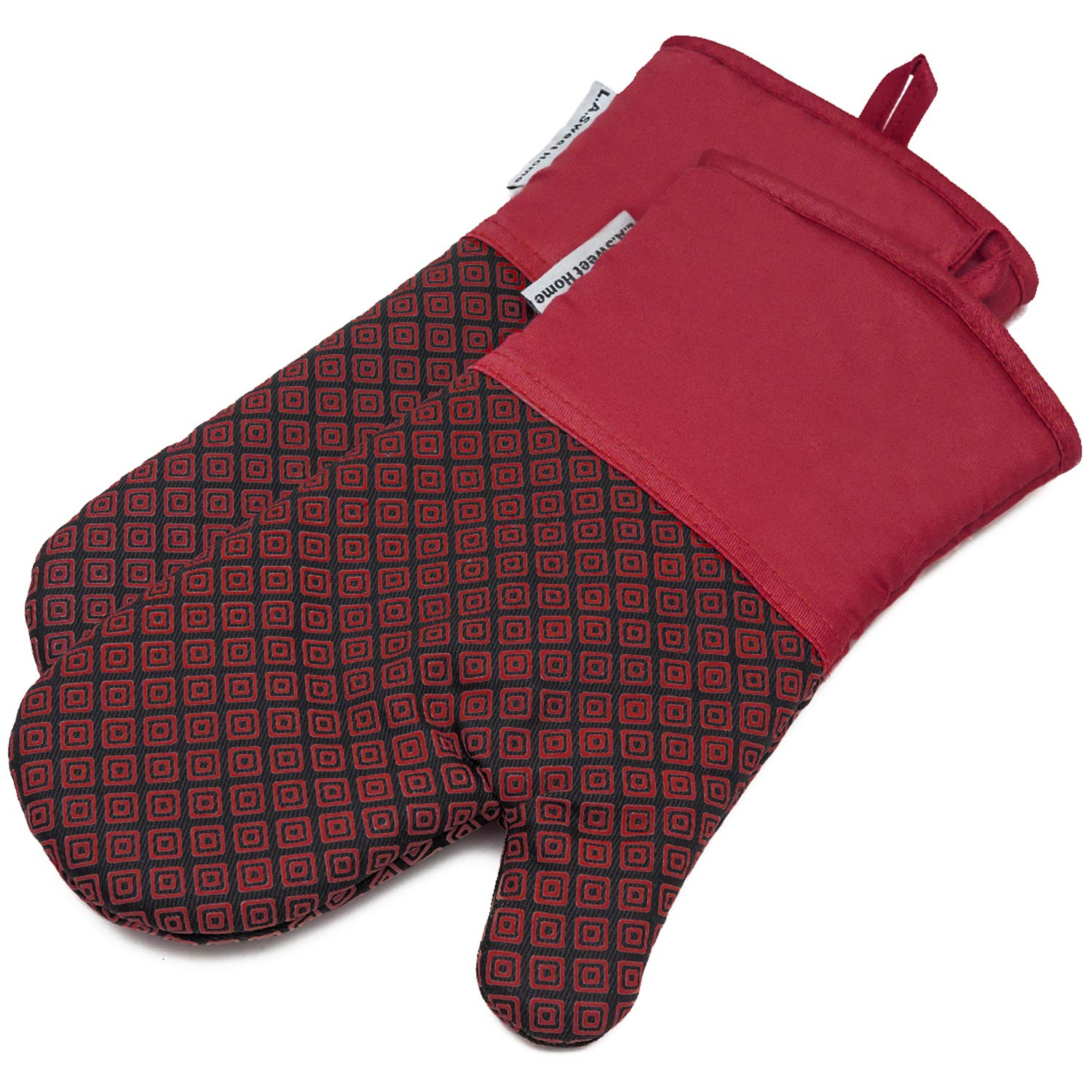 LA Sweet Home Silicone Oven Mitts