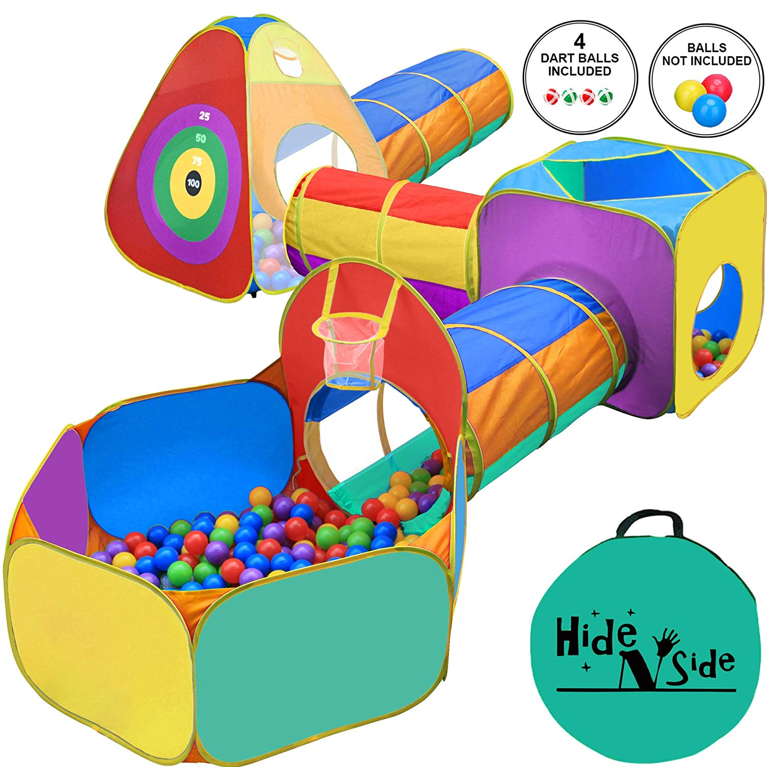 Gift for Toddler Boys & Girls, Ball Pit, Play Tent