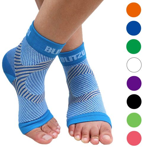 Bliztzu plantar Fasciitis socks with Arch support