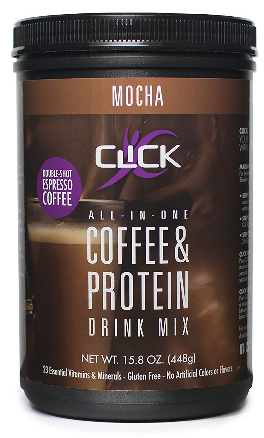 CLICK All-in-One Protein & Coffee