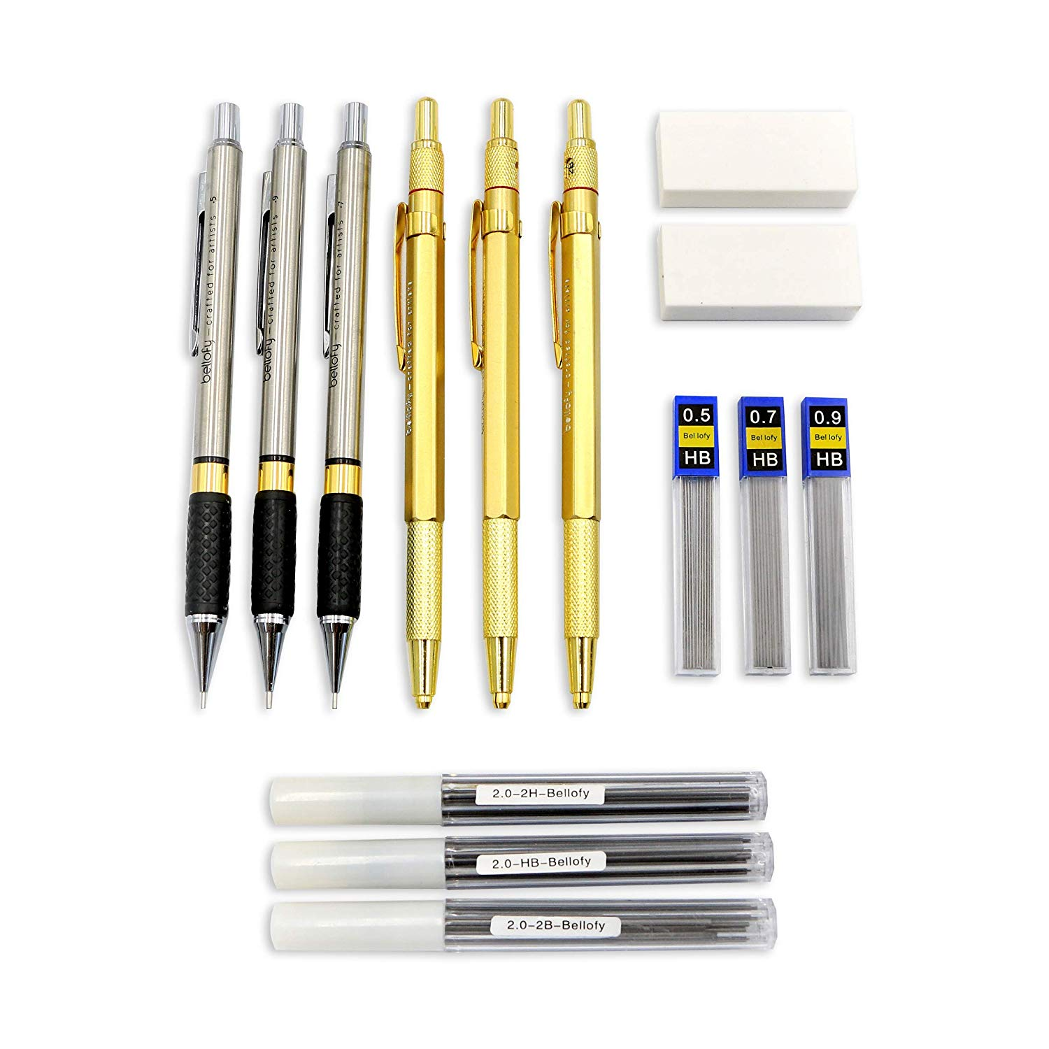 Bellofy Mechanical Pencils Set