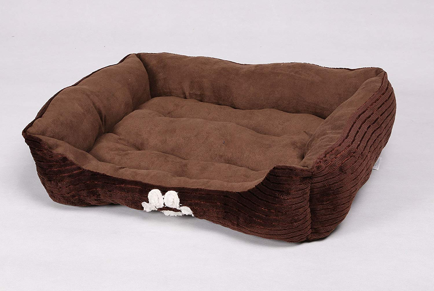 Long Rich Reversible Rectangle Pet Bed