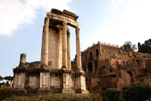 The Temple of Vesta - Famous Classic Architecture