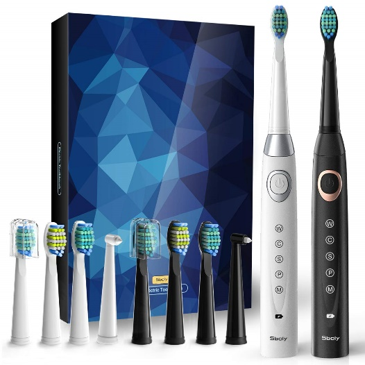 2 Sonic Electric Toothbrushes