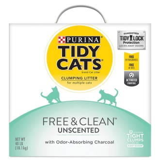 Purina Tidy Cats Free and Clumping Cat litter