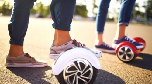 How to ride a hoverboard in a simple step?