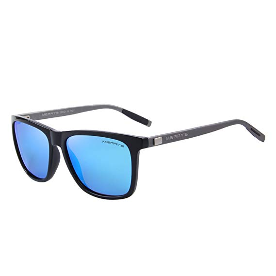 MERRY'S Unisex Polarized Aluminium Sunglasses-Polarized Sunglasses