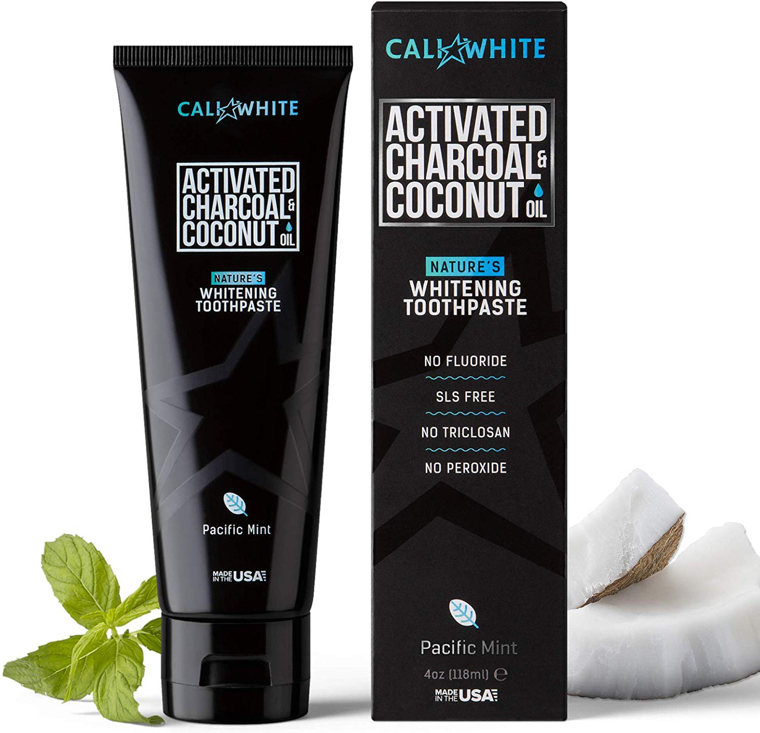 Cali White Activated Charcoal Coconut