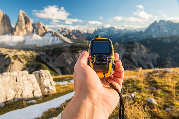 Hiking gps