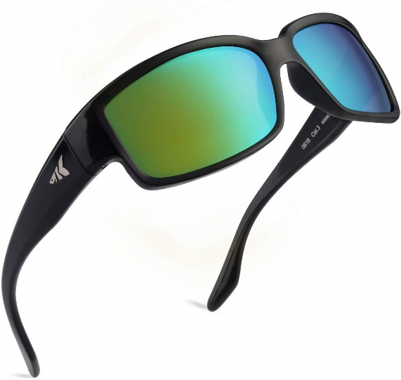 KastKing Skid away Polarized Sports Sunglasses-Polarized Sunglasses
