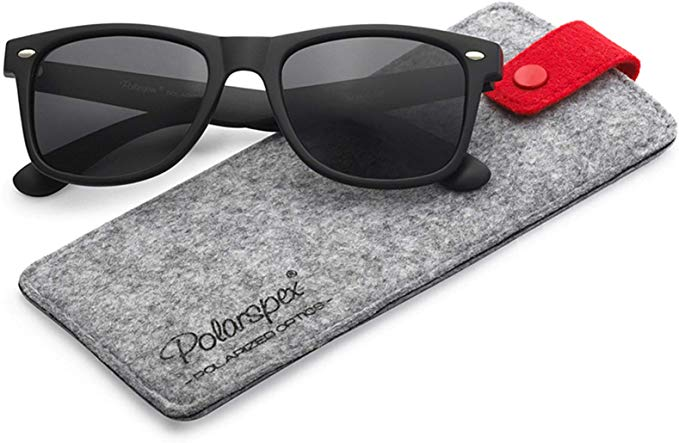 Polarspex Polarized 80's Retro Classic Trendy Stylish Sunglasses-Polarized Sunglasses