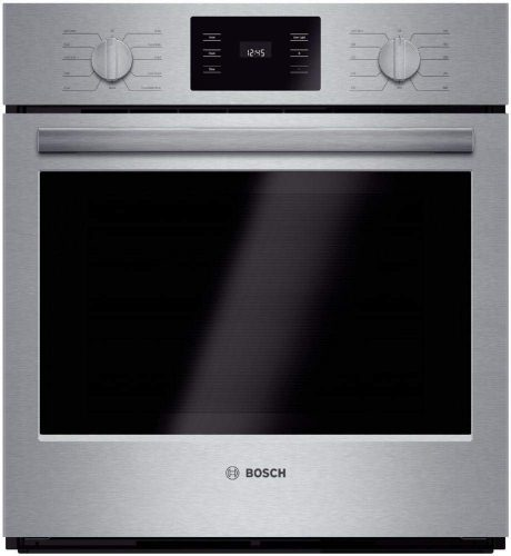 """Bosch HBN5451UC 500 27"""" Stainless Steel Electric Single Wall Oven"""