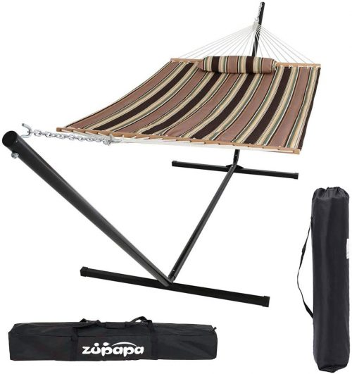 Zupapa 15 Feet Hammock with Stand Heavy Duty