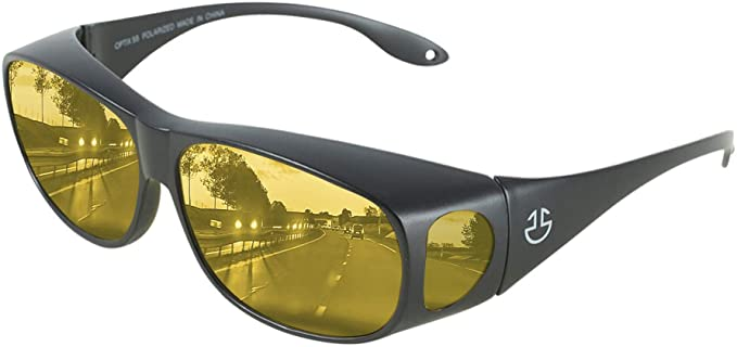 HD Day Night Driving Glasses Fit Over Sunglasses