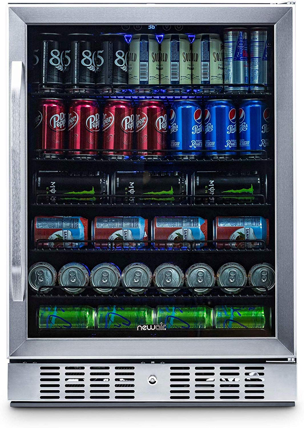 NewAir Built-In Beverage Cooler and Refrigerator