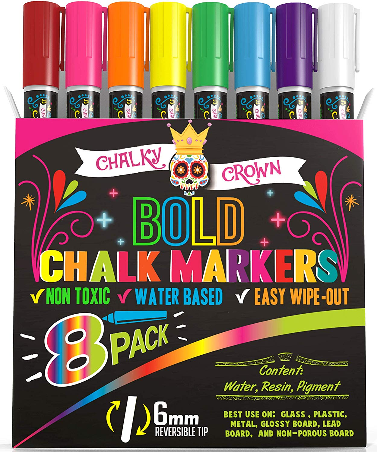 Liquid Chalk Markers for Blackboards