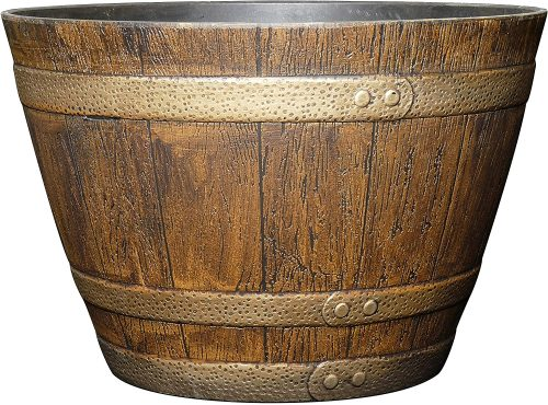 Classic Home and Garden 72 Whiskey Barrel