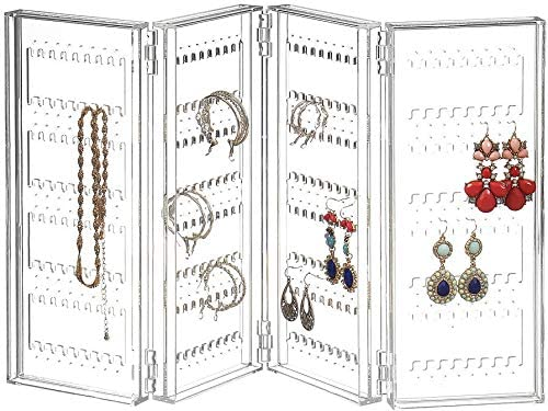 Earring Holder and Jewelry Organizer