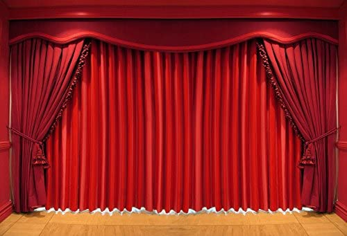 Baocicco Red Drapes