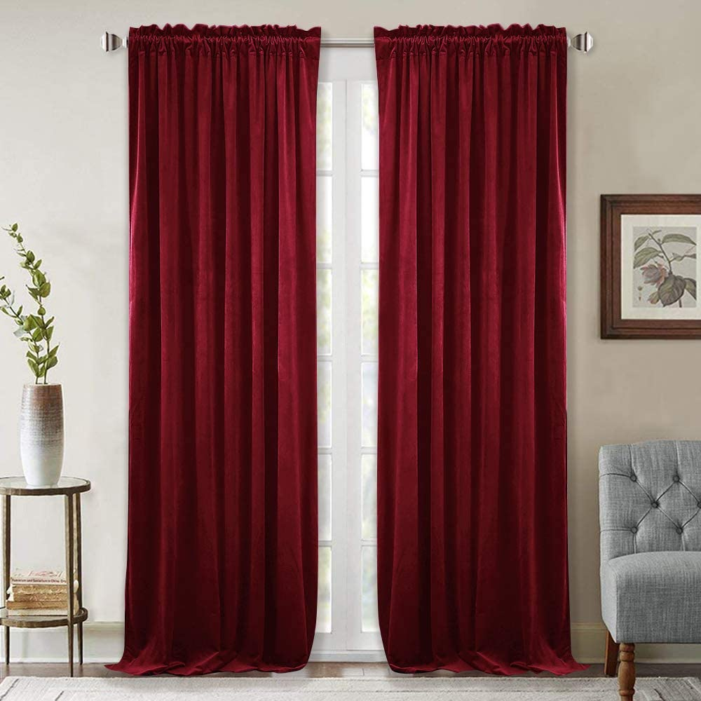 StangH Thick Velvet Curtains