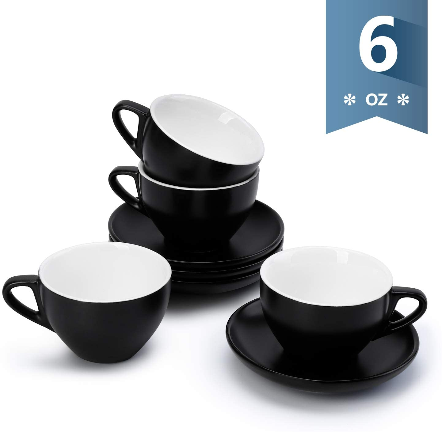 Sweese 403.114 Cappuccino Cup and Saucer Set