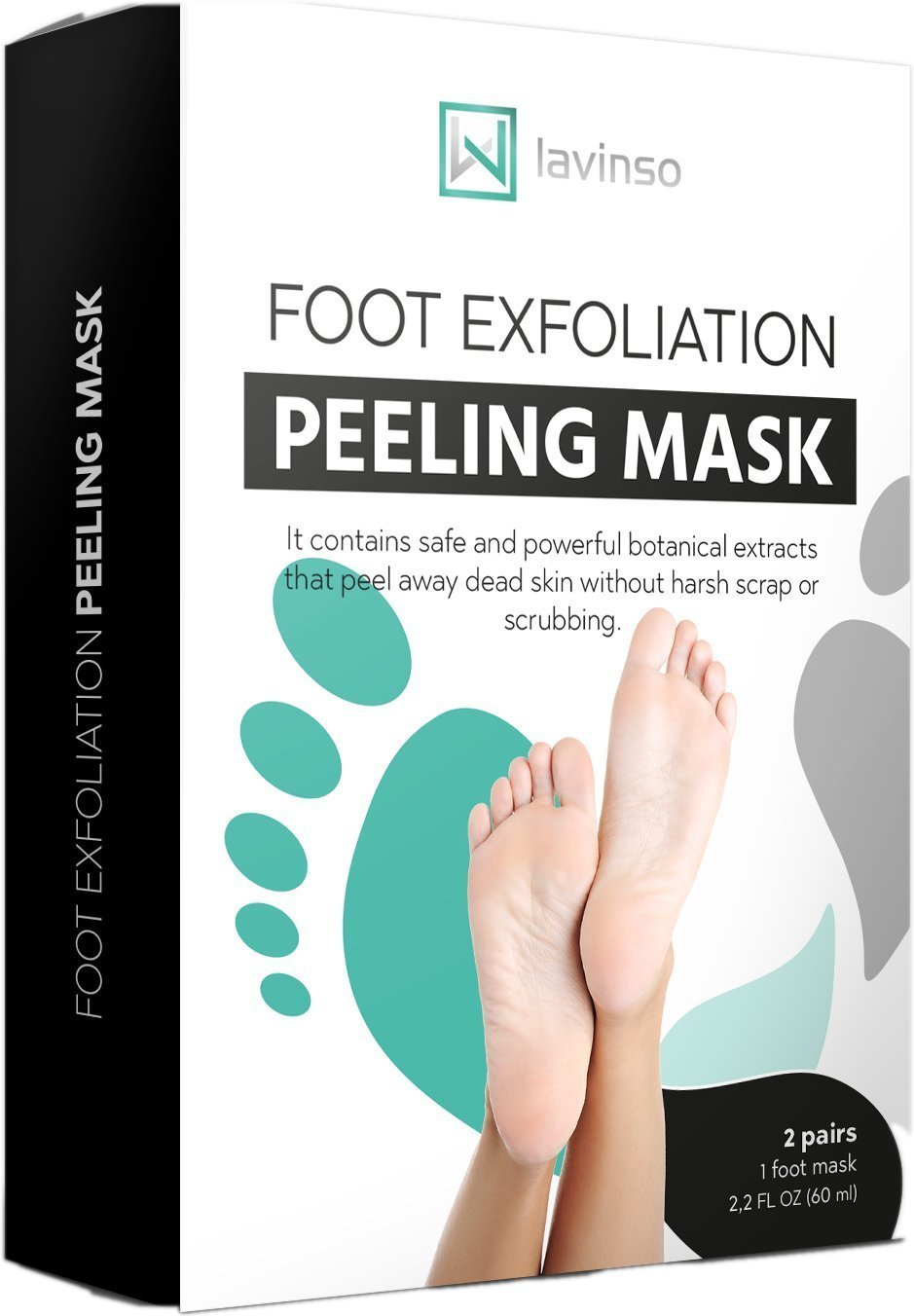 Foot Exfoliation Peeling Mask by Lavinso