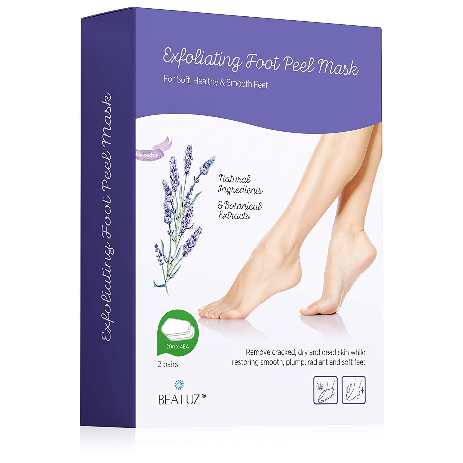 Exfoliating Booties for Peeling Off Calluses
