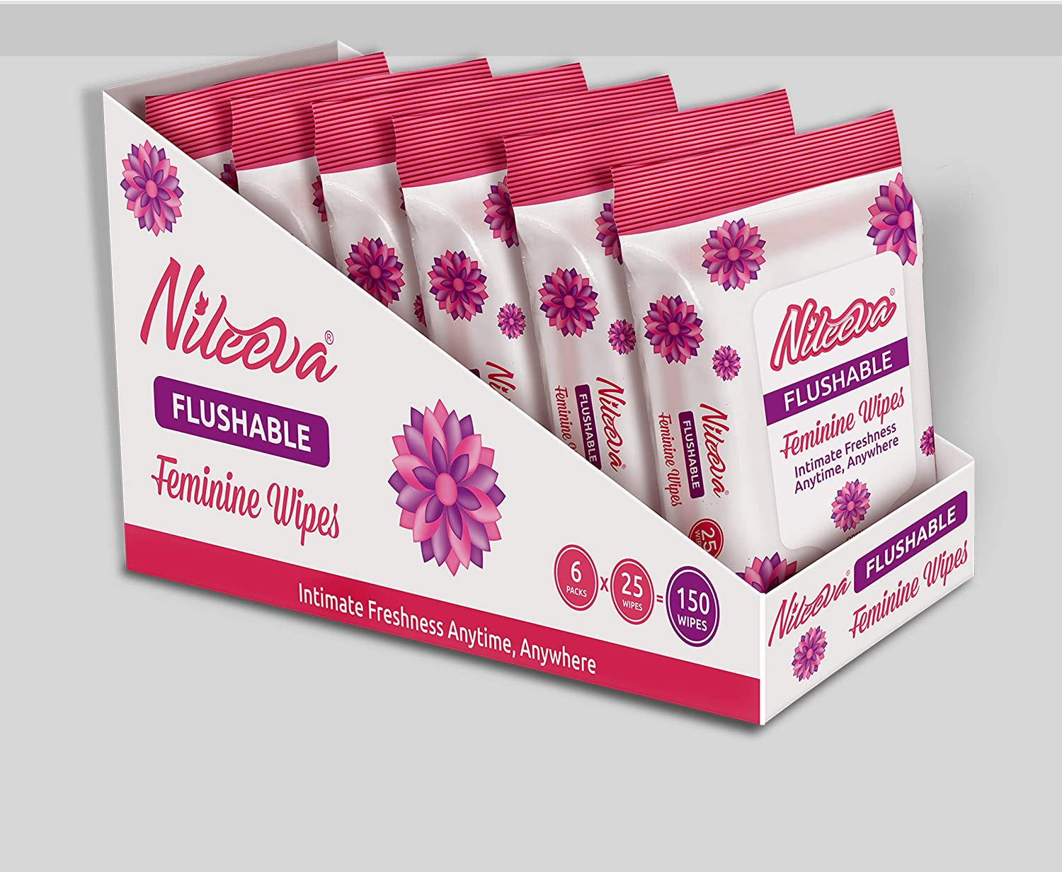 Nileeva Feminine Alcohol Free Cleaning Cloths