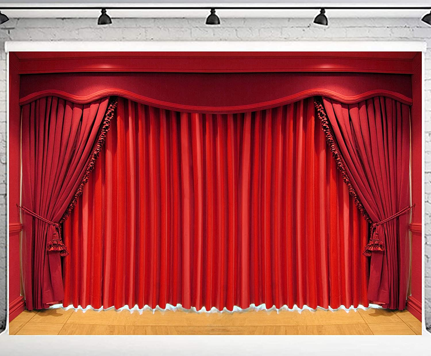 PHMOJEN Theater Interior Curtains