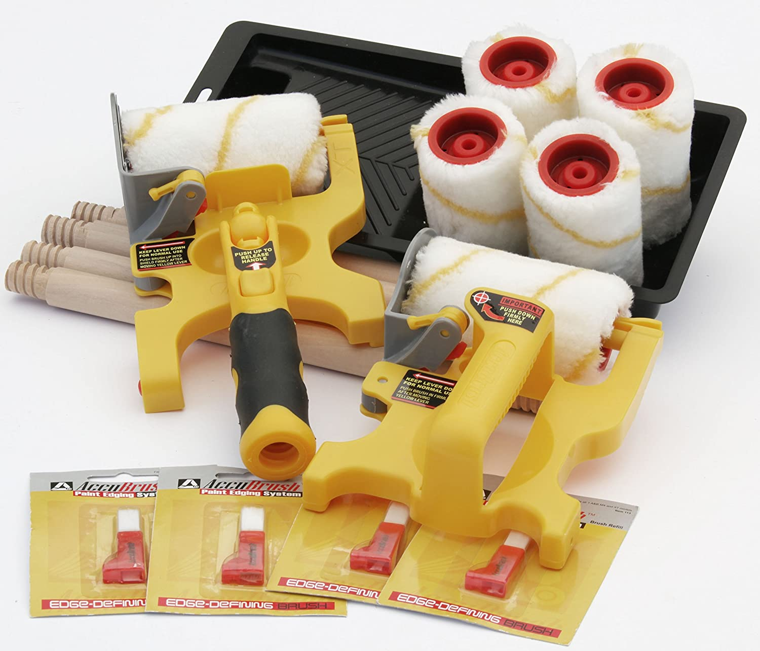 Accubrush MX XT Complete Paint Edging tool