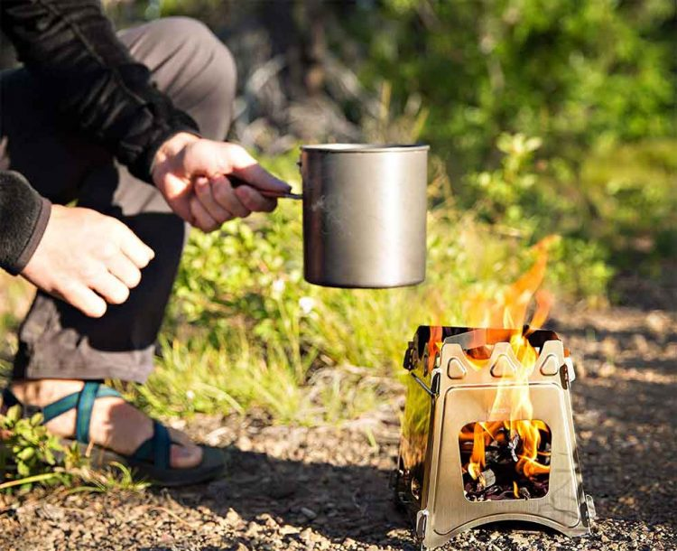 Is a portable wood stove safe?