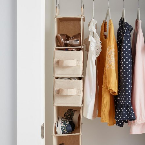 What are the criteria to think before getting a hanging clothes organizer?