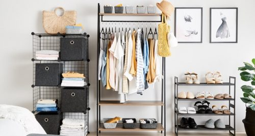 Should you hang or fold your clothes in your closet?
