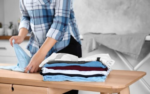 How to keep line-dried clothes soft?