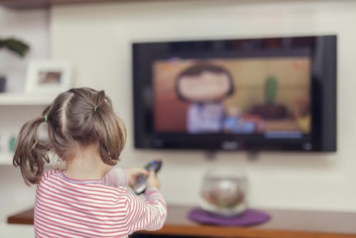 What are the things you can do to prevent eye strains from watching TV?